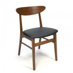 Deense Farstrup 210 vintage eettafel stoel