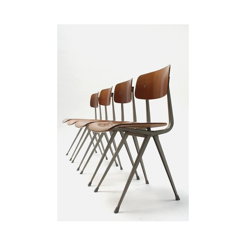 Friso Kramer 4 Result chairs wood