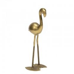Vintage Flamingo van messing