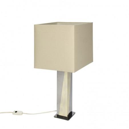 Vintage brass / chrome table lamp