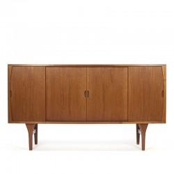 Deens vintage dressoir ontwerp H. Kjaernulf voor Bruno Hansen