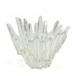 Vintage glazen schaal design Tauno Wirkkala