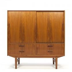 Danish vintage cupboard in teak