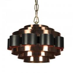 Vintage Danish hanging lamp design Werner Schou