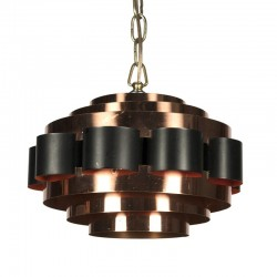 Vintage Deense hanglamp design Werner Schou