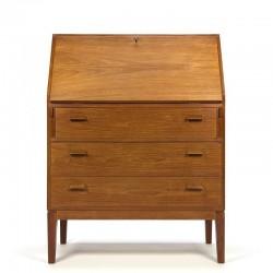 Vintage teak writting desk furniture