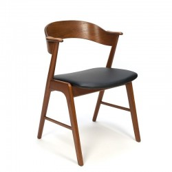 Vintage Deense design stoel ontwerp Kai Kristiansen