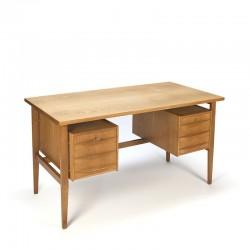 Danish vintage oak desk