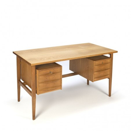 Deens vintage eiken bureau