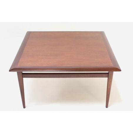 Teakhouten salontafel vierkant
