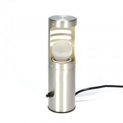 Vintage aluminium tafellampje
