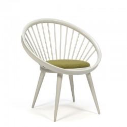Vintage Circle chair design Yngve Ekstrom