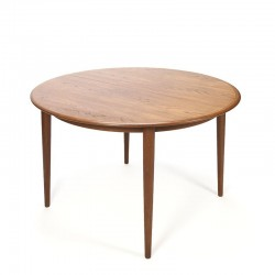 Vintage teak dining table by Skovmand and Andersen