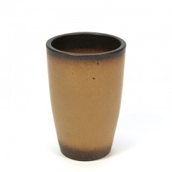 Vintage brown Ravelli vase