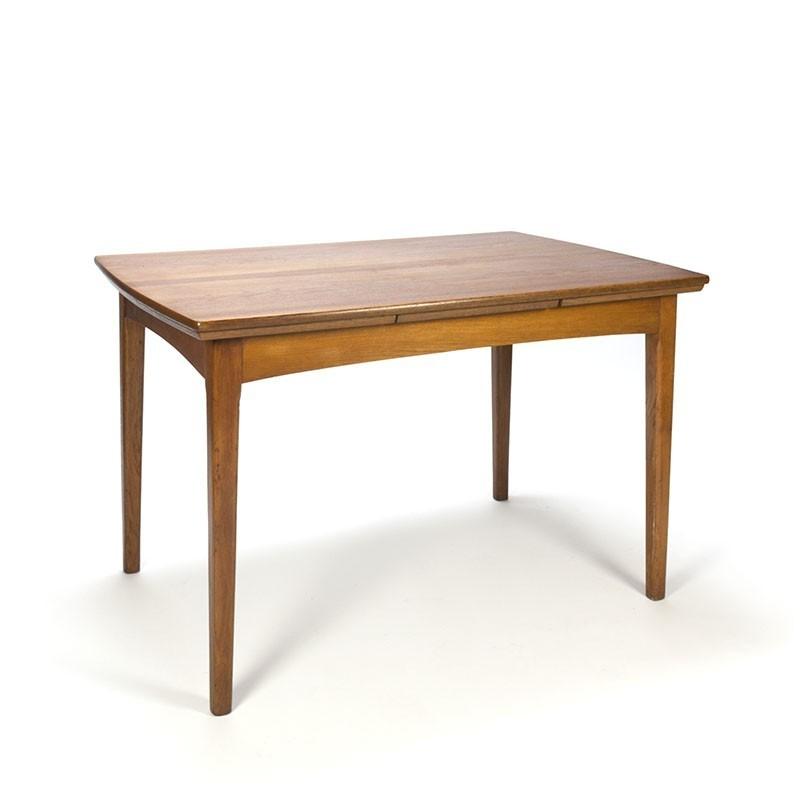 Uitschuifbare Eettafel Teak.Vintage Uitschuifbare Eettafel In Teak Retro Studio