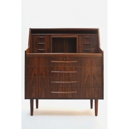 Deense palissander houten secretaire