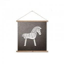 Zebra op canvas Kay Bojesen Gallerie