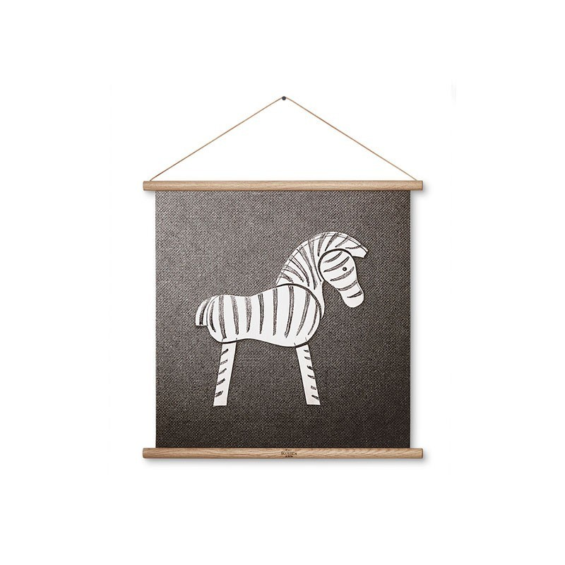 Zebra op canvas kay bojesen gallerie altavistaventures Image collections