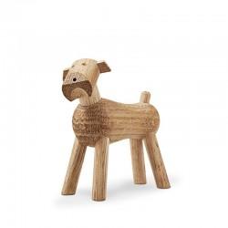 Hond Tim design Kay Bojesen eiken