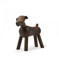 Dog Tim design Kay Bojesen smoked oak