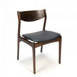 Danish vintage dining table chair rosewood