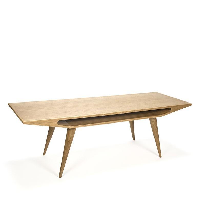 Omann Jun Oak Coffee Table Nr 100 Retro Studio