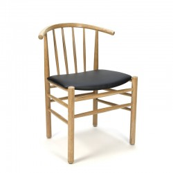 Deense vintage eiken stoel FDB Mobler