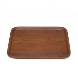 Teak vintage tray