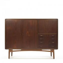 Vintage Deens organisch design dressoir