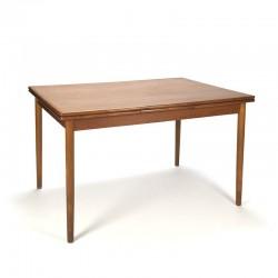Danish teak extendable dining table vintage
