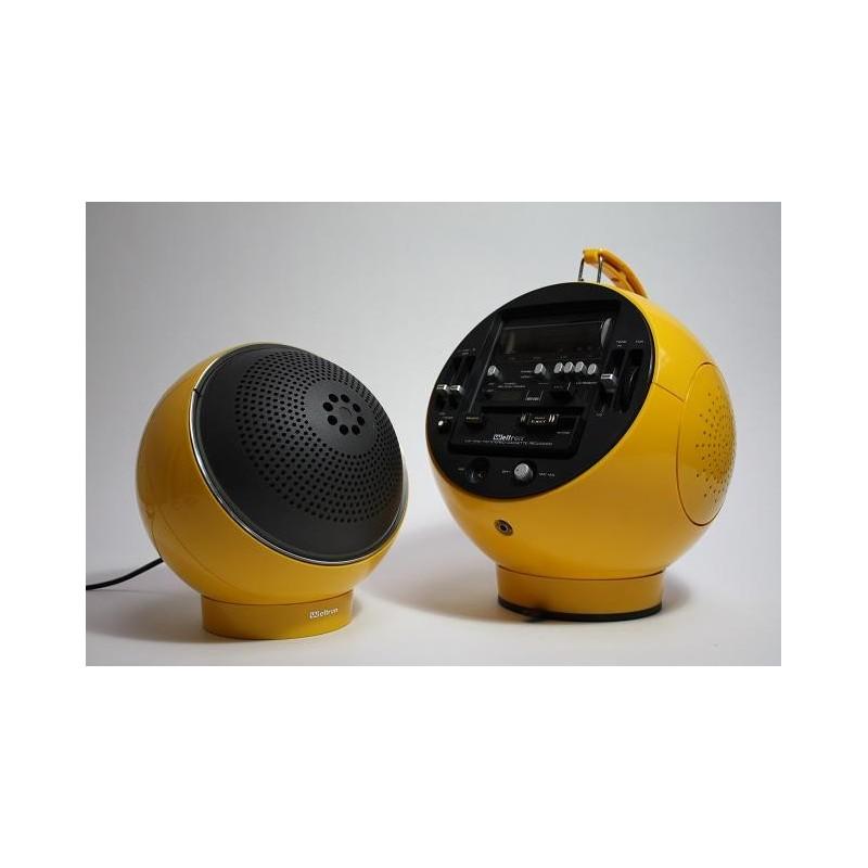 Weltron yellow type 2004 incl. speaker