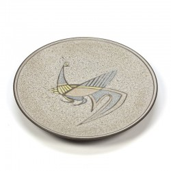 Vintage abstract plate fifties