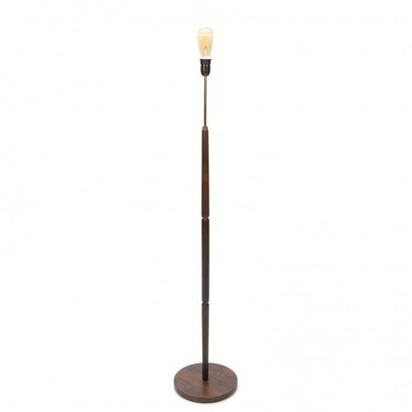 Rosewood Danish vintage floor lamp