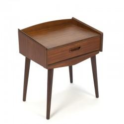 Vintage teak bedside table
