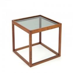 Danish vintage design side table square