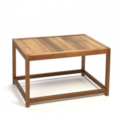 Danish oak small coffee table from K.P. Mobler