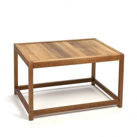 Deens eiken kleine salontafel van K.P. Mobler