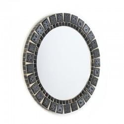 Vintage kleine mozaïek spiegel