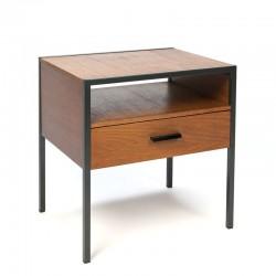 Vintage Auping bedside table in teak