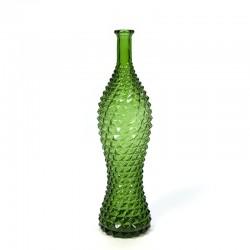 Vintage decoratieve groene fles