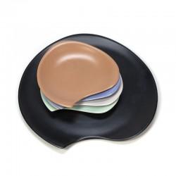 Vintage gebakstel in palet vorm