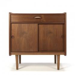 Small vintage Danish cabinet made of teak