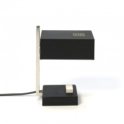 Cubistic vintage small table lamp