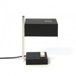 Kubistische vintage kleine tafellamp