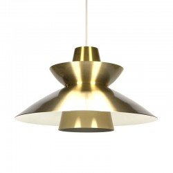 Danish vintage Nordisk Solar hanging lamp design Jorn Utzon