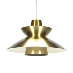 Deense vintage Nordisk Solar hanglamp design Jorn Utzon