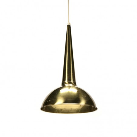 Vintage brass hanging lamp