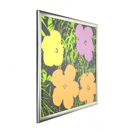 Vintage Andy Warhol zeefdruk Flowers van Sunday B. Morning