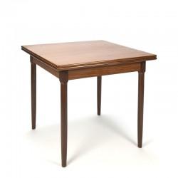 Vintage small model teak dining table