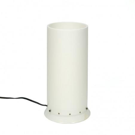 Vintage plastic cylinder table lamp